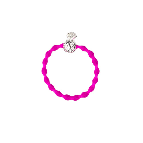 Pink pineapple wristee hair tie