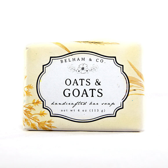 OATS & GOATS Handcrafted Bar Soap