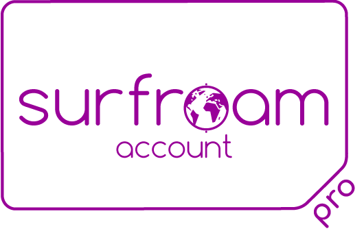Surfroam PRO account