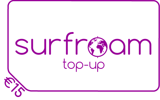 Surfroam balance top-up