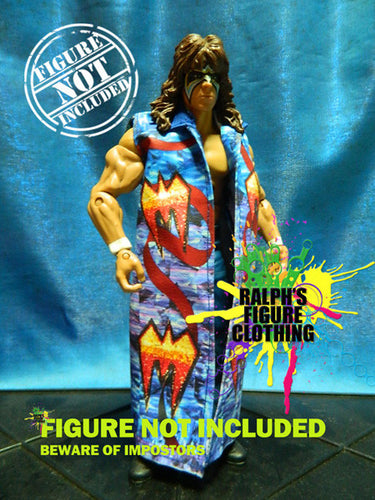 Ultimate Warrior Blue Robe