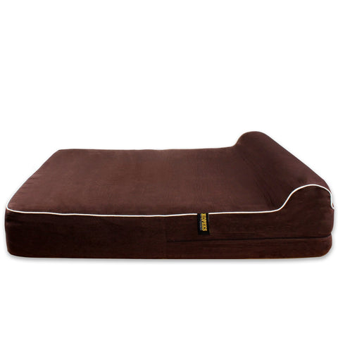 KOPEKS Dog Bed Replacement Cover ONLY - Brown - Extra Large (OUT OF STOCK, SHIPS BY AUGUST)