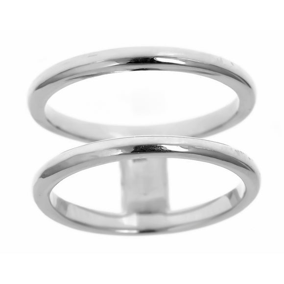 Double Band Ring - R2618