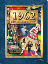 1962 What a Year It Was!: Great Birthday or Anniversary Gift - Coffee Table Book