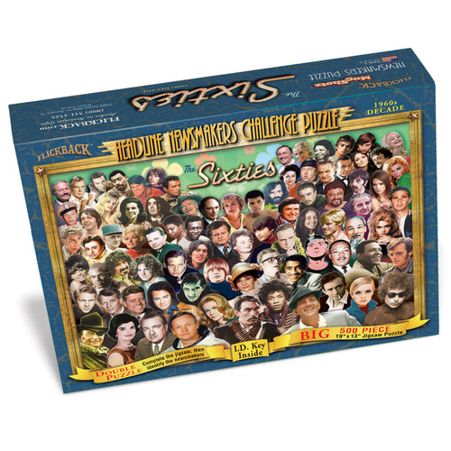 1960s Decade Flickback Newsmakers Puzzle