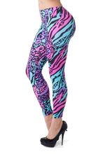 Women's Cheebrah Leggings - Party Rock Clothing REDFOO LMFAO