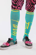 Striped Socks - Party Rock Clothing REDFOO LMFAO