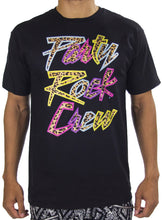 Party Rock Crew Tee- Natural Cheetah/Multi - Party Rock Clothing REDFOO LMFAO