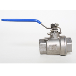 "Ball Valve - Stainless Steel 316 - 3 Piece Ball Valve - 1/2"" FPT"