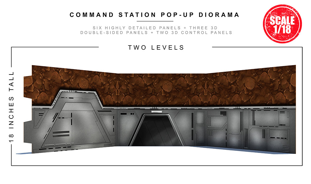 Command Station Pop-Up Diorama
