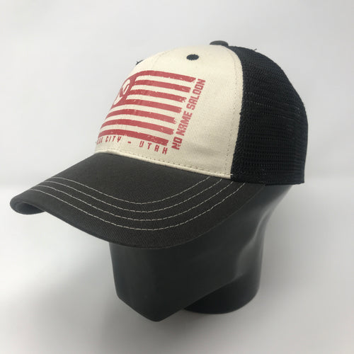 No Name Saloon American Flag Hat