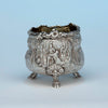 English Antique Sterling Silver Master Salt, Edward Farrell, London, 1818/19