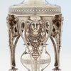 Detail of Tiffany & Co Antique Sterling Silver Figural Garniture Suite, New York City, 1870-75