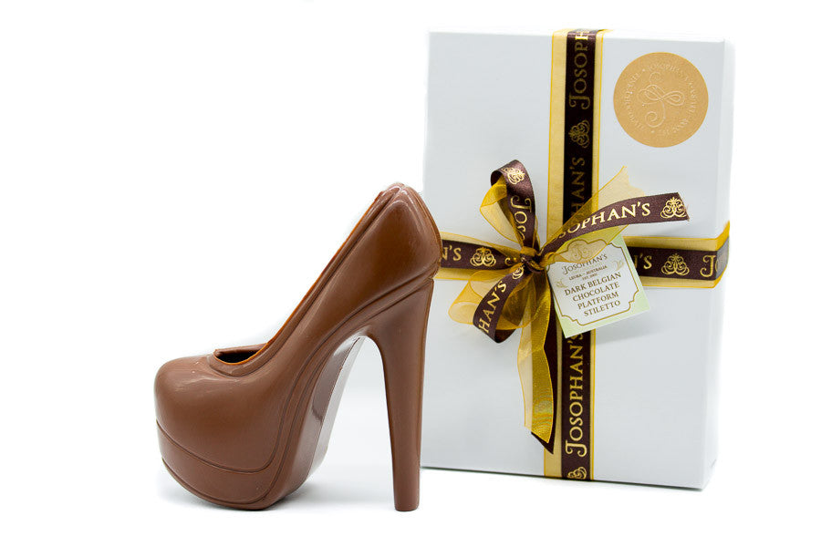Milk Chocolate Platform Stiletto Heel