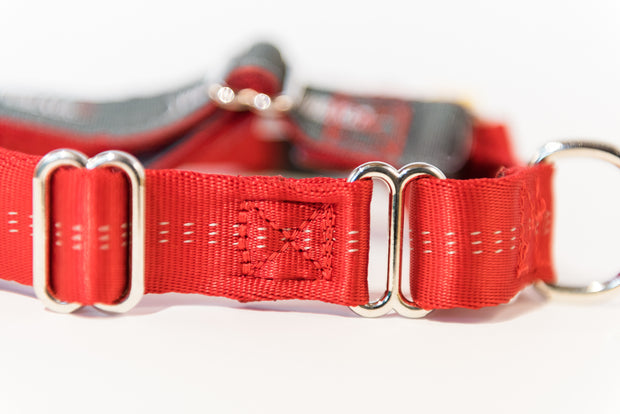 JWalker Dog Harness in red