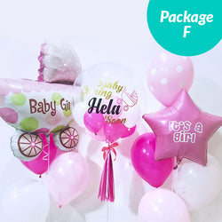 [2 Day Pre-Order] Balloon Package F