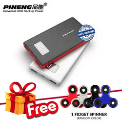 Pineng PN-963 10000mAh Power Bank + Free Fidget Spinner