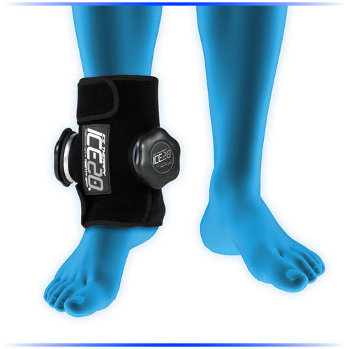 ICE-20 Double Ankle Compression Ice Therapy
