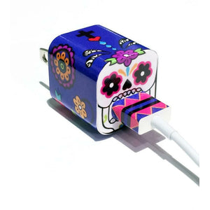 Tech Tattz Accessories Sugar Skull Skins for iPhone Chargers 0720252999319 tween and teen