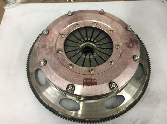 (Rebuilt) Twin Disc Clutch LS 6 Bolt Camaro Corvette - Ceremetallic