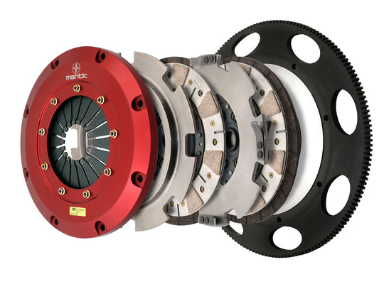 C5 Corvette Twin Disc Clutch Mantic M921201B Ceremetallic