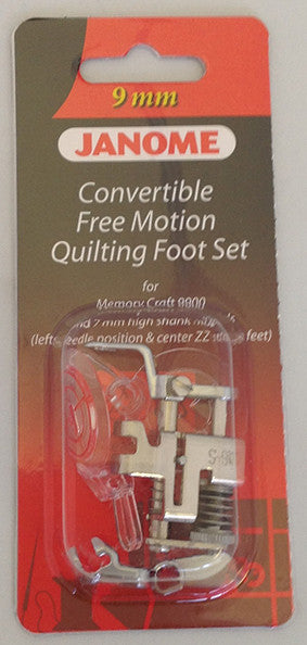 Convertible Free Motion Quilt Foot Set - Category D