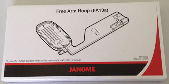 Free Arm Embroidery Hoop FA10A