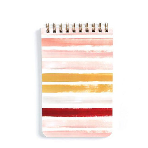 Sunset Stripe Small Notebook