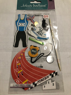 TRACK AND FIELD - Jolee's Boutique Stickers