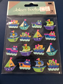 BOAT REPEATS - Jolee's Boutique Stickers