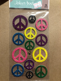 LARGE PEACE SIGNS - Jolees Boutique Embellishments