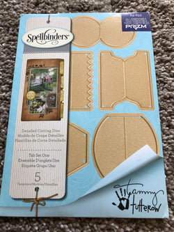 SPELLBINDERS TAB SET ONE DIE SET