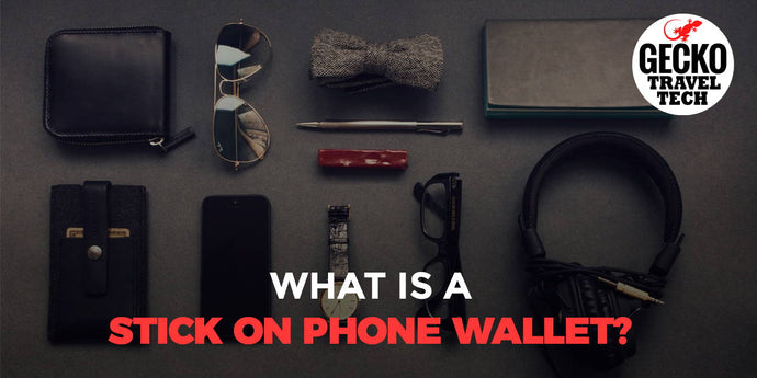 What is a Stick On Phone Wallet?