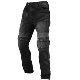 WINDPROOF ARMORED MOTORCYCLE JEANS