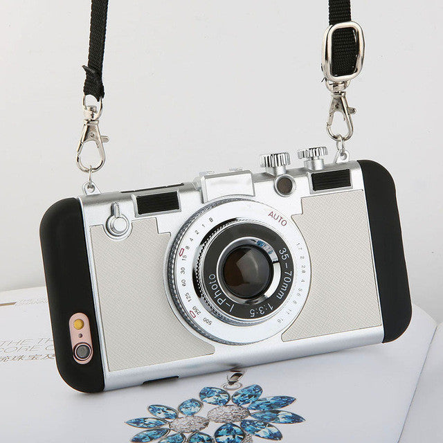 Luxury Photo Camera Cases For iPhone