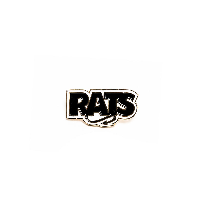 Rats Box Logo Pin Black