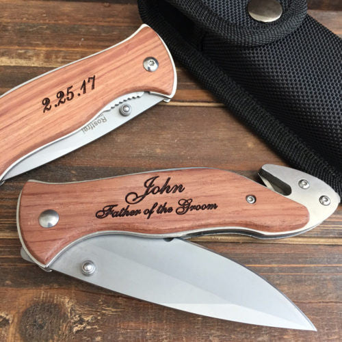 Father of the Groom Gift Pocket knife