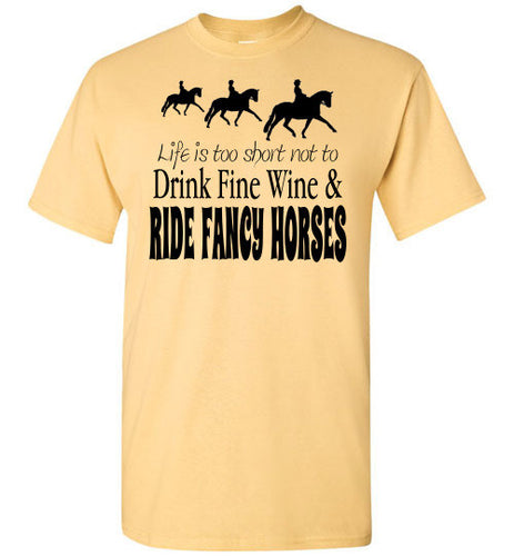 Fancy Horses and Fine Wine