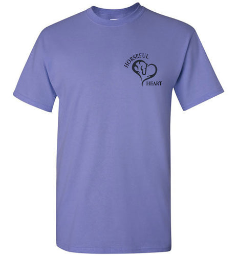Horseful Heart Over My Heart Tee