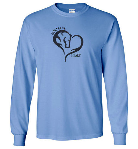 Horseful Heart Long Sleeve Tee