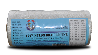 Nylon Braided Twine – White at Everstrong Rope