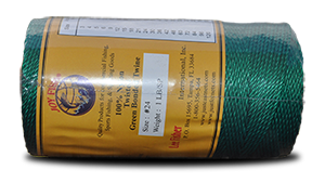 Nylon Twisted Twine – Green & Bonded at Everstrong Rope