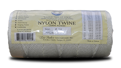 Nylon Twisted Twine – White at Everstrong Rope
