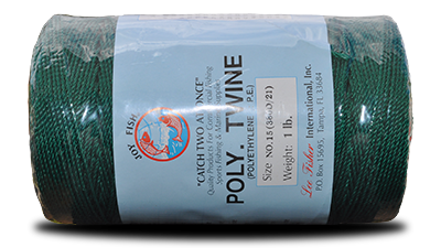 Poly (P.E.) Twisted Twine – Green at Everstrong Rope