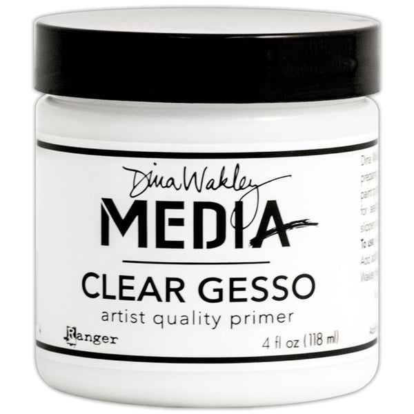 Dina Wakley Media - Clear Gesso 4oz Jar