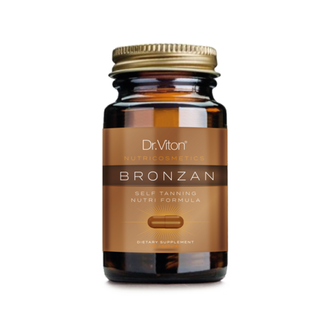 BRONZAN - 30 caps. 100% Natural Tan Without The Sun - Longevity Code - Live Longer