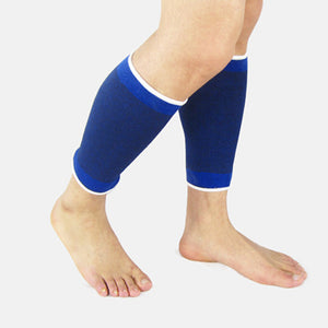 Dark Blue Outdoor Sports & Fitness Shin Protection Sleeves