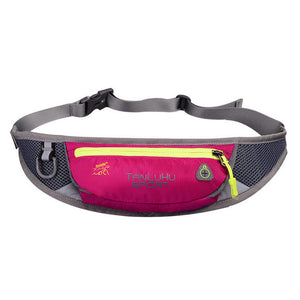Women Men Sports Belt Bags Outdoor Waist Packs Bags Unisex Sport Fitness Gym Running Waistband For Accessory Small Travel Bag