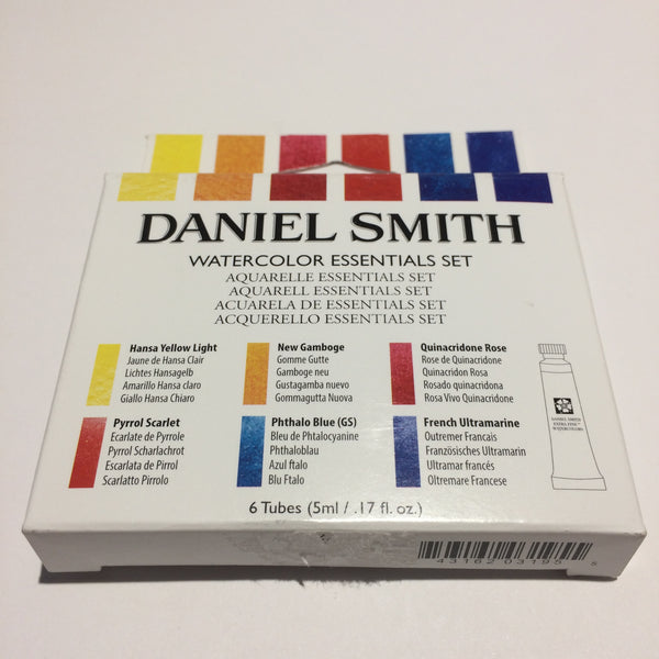 Daniel Smith Essentials Introductory Watercolor Set 285610005 5 Ml 6 Tubes