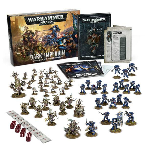 WARHAMMER 40000 DARK IMPERIUM ITALIANO-GAMES WORKSHOP- nuvolosofumetti.